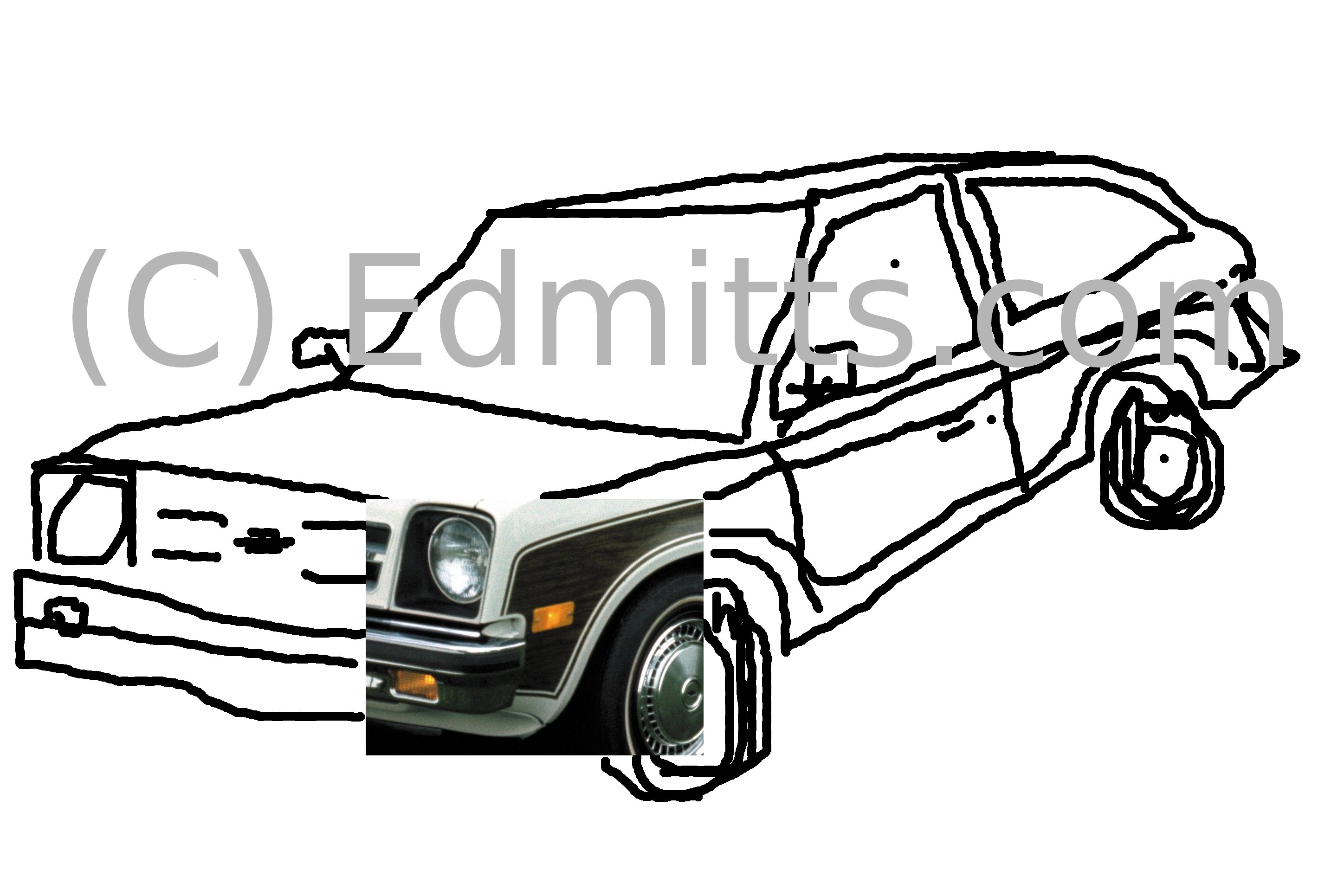 Edmitts.com's exclusive computer-generated illustration of the new car, yesterday