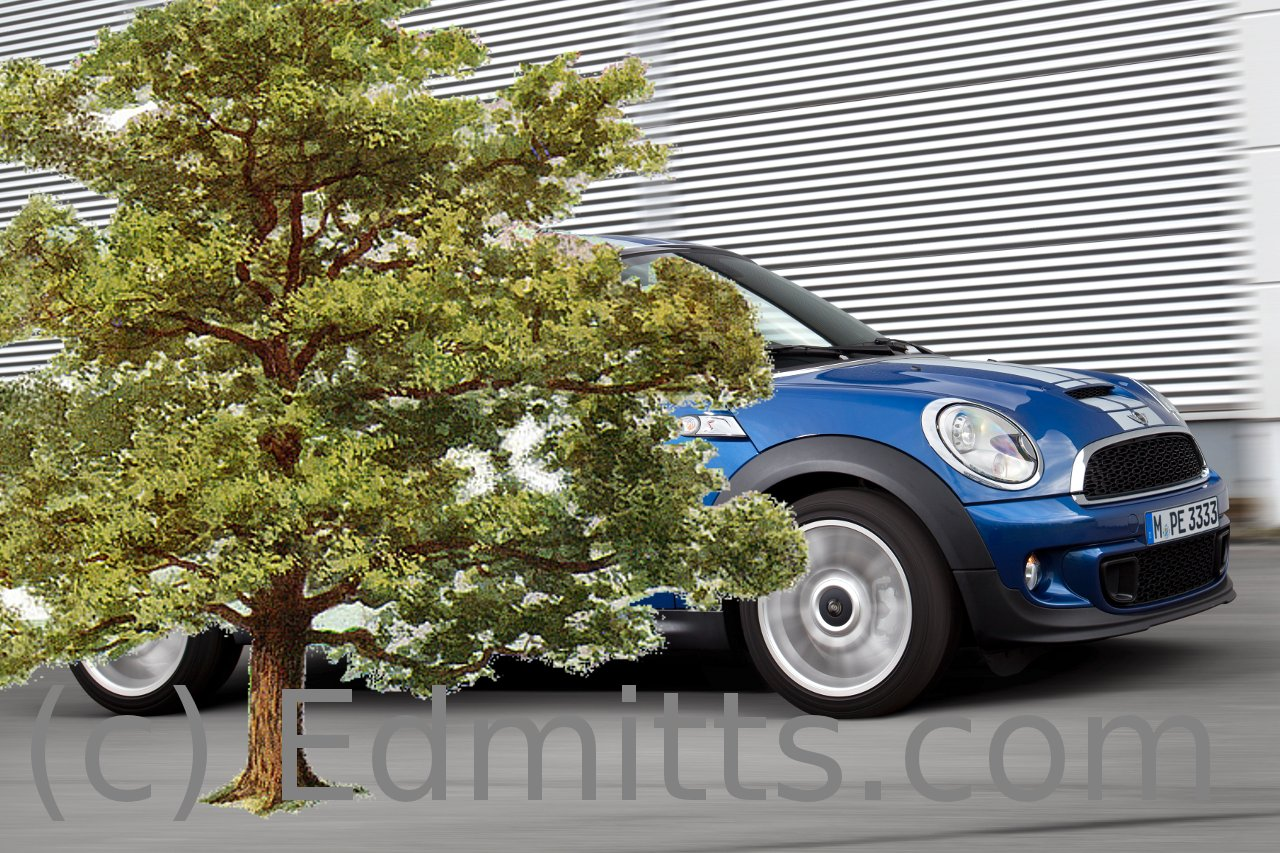 Edmitts.com composite image of the new MINI model, yesterday