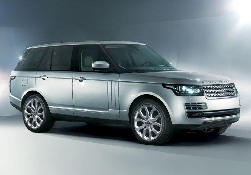 The revolutionary new Range Rover, revolutionary... sorry, I mean yesterday