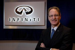 Infiniti President Johan de Nysschen, yesterday