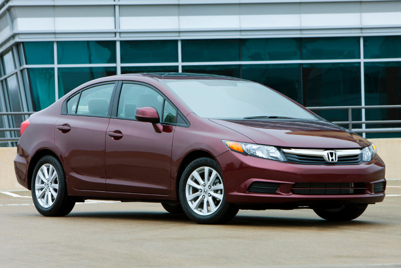 A 2014 Honda Civic, yesterday