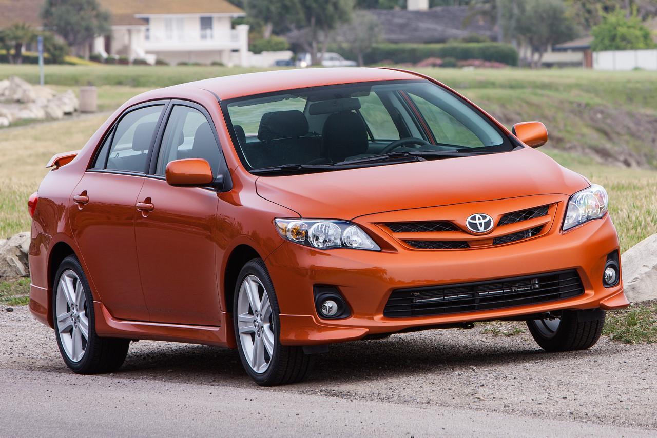 A Toyota Corolla, yesterdzzzzzzz
