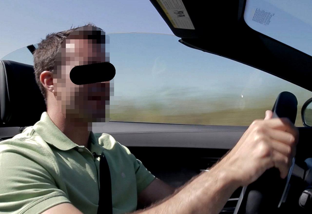 A journalist not enjoying a diesel car, or enjoying a car that is not a diesel, yesterday