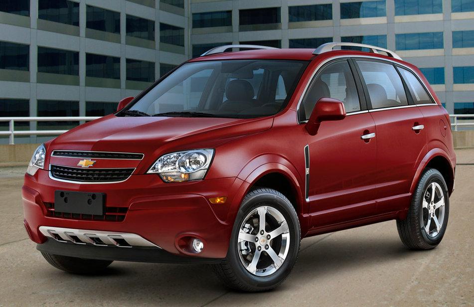 The Chevrolet Captiva, yesterday