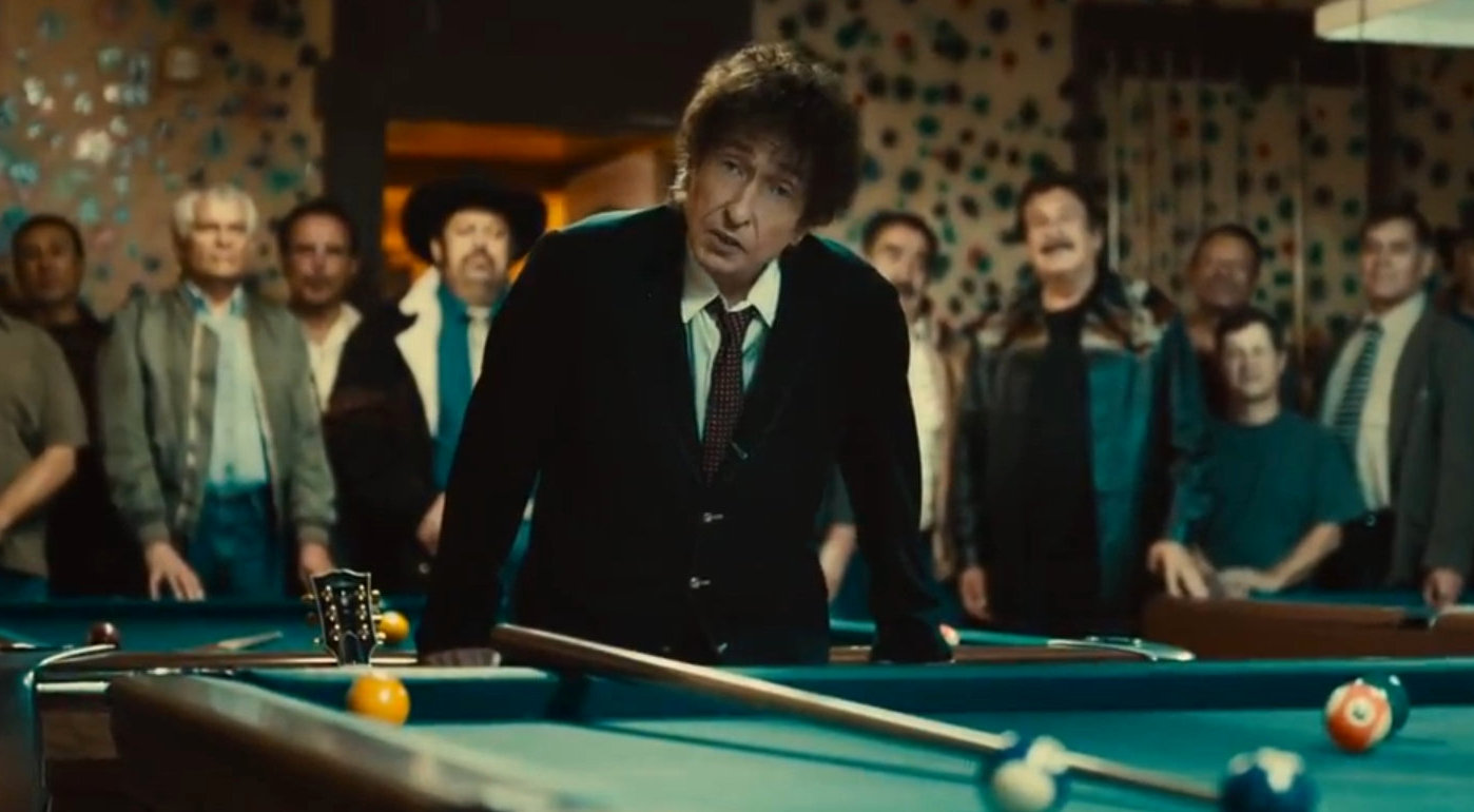 Someone who might or might not be Bob Dylan in a Super Bowl ad, yesterday