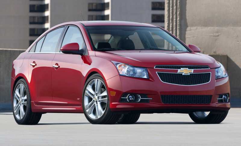 A Chevrolet Cruze stopped from selling, yesterday