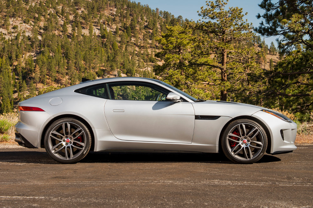 2015 Jaguar F-Type R Coupe, yesterday