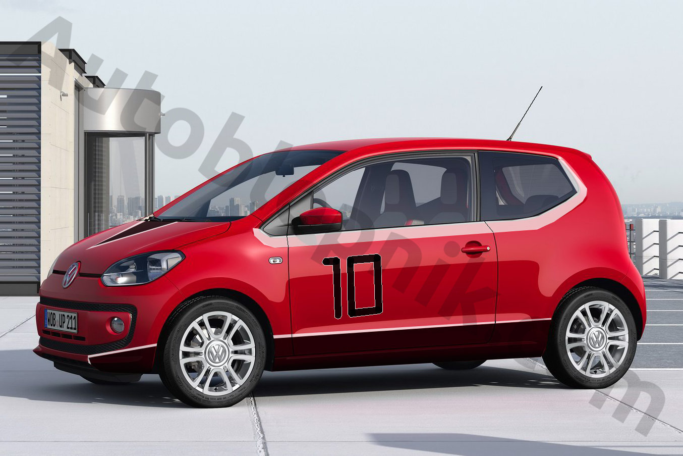 The Volkswagen-Ferrari FxxK-UP!, yesterday