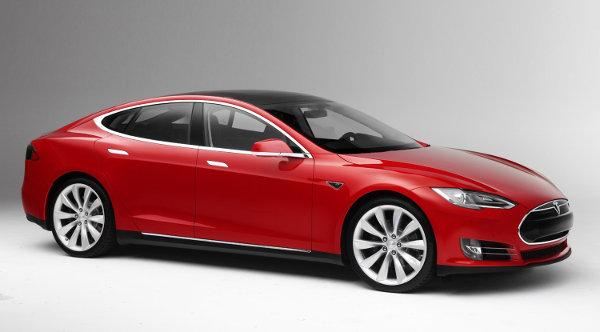 A Tesla Models, yesterday