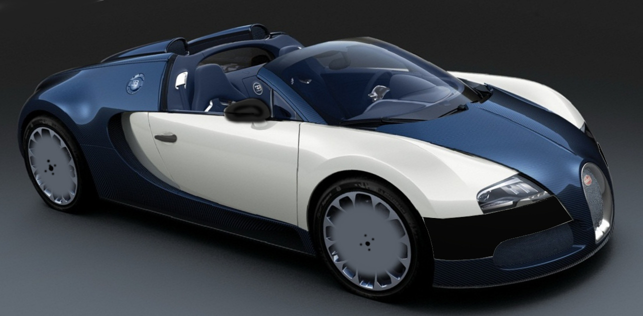 An artist's rendering of the Bugatti Chiron Sport, yesterday