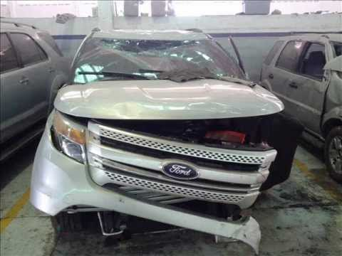 A Ford Explorer, yesterday